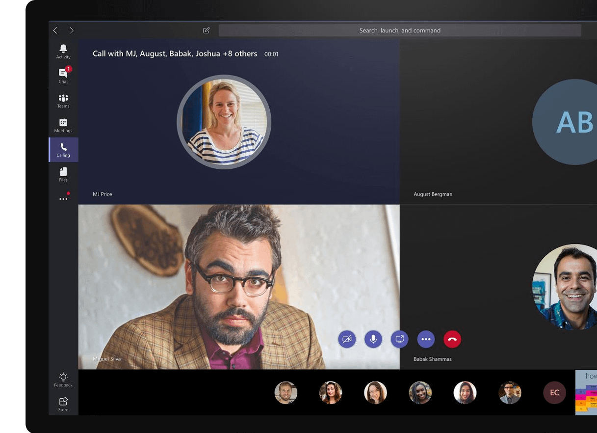 Stay on track quickly and easily with Microsoft Teams