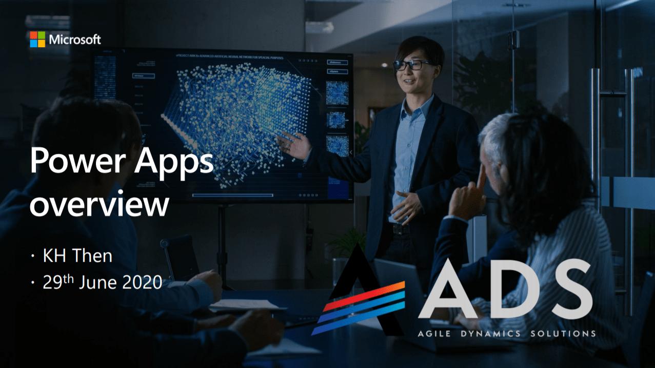 Apps in a Day Webinar 1