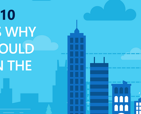 Top 10 Reasons SMBs Should Invest in the Cloud - Infographic