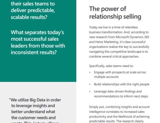 The power of relationship selling - Ebook 3