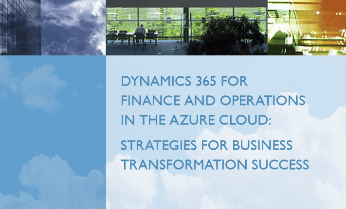 Finance and Operations in the Azure Cloud - Whitepaper 1